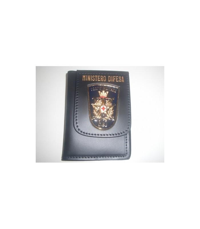 l'ultimo 40efa 53325 Portafoglio Pelle Croce Rossa Italiana Corpo Militare - Accademia militare