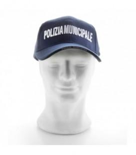 Berretto Baseball Polizia Municipale