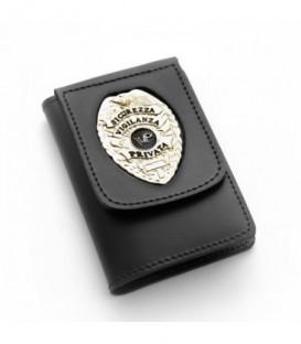 Portafoglio Pelle Sicurezza Vigilanza Privata