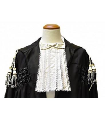 Toga in seta per Avvovato e Magistrato completa di cordoni