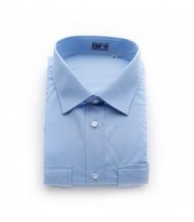 Camicia Azzurra Manica Corta Mod. Mil. Guardie Giurate