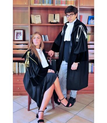 Toga in tessuto per Avvocato e Magistrato
