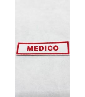 TOPPA RICAMATA CON VELCRO MEDICO CRI