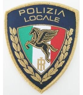 SCUDETTO RICAMATO CON VELCRO POLIZIA LOCALE
