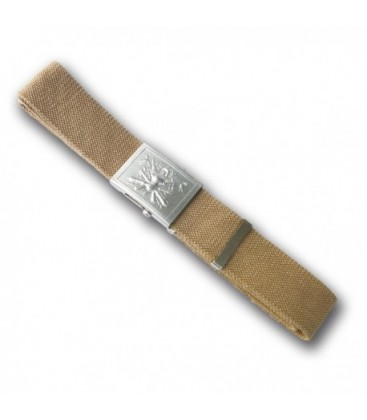 Cintura canapa con fibbia metallo