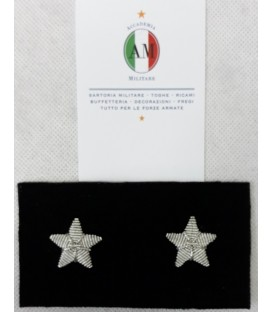 STELLE ARGENTO PER GIACCA RICAMATE